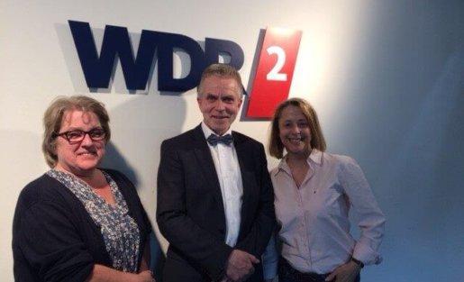 WDR 2 Sonntagsfragen mit Detlef Friedrich, Geschäftsführer contec GmbH