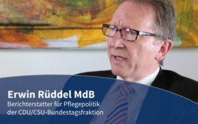 Blaue Couch – Erwin Rüddel MdB