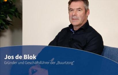 Blaue Couch - Jos de Blok contec
