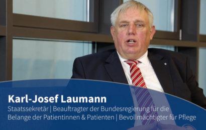 Blaue Couch – Staatssekretär Karl-Josef Laumann contec