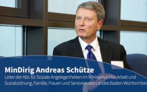Blaue Couch – MinDirig Andreas Schütze