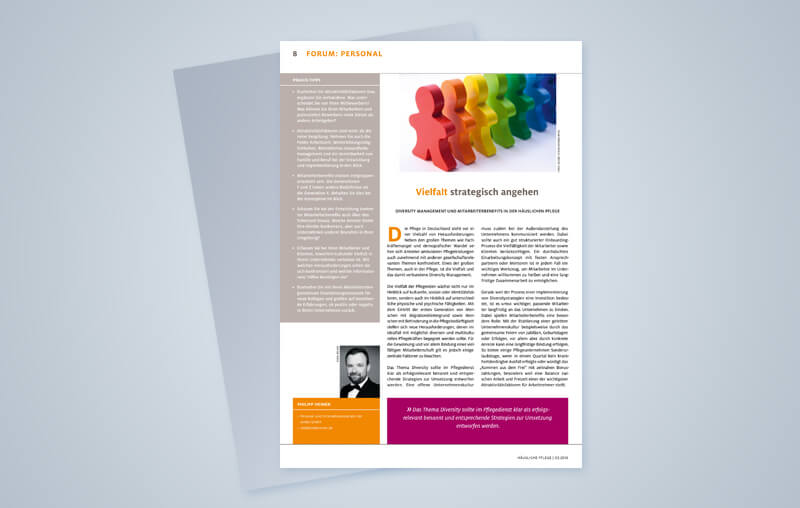 Diversity Management und Mitarbeiterbenefits in der häuslichen Pflege