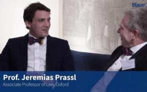 Blaue Couch: Prof. Jeremias Prassl