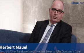 Blaue Couch: Herbert Mauel – Studie zum Unternehmerwagnis