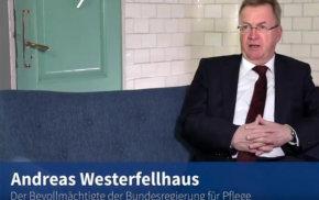 Blaue Couch: Andreas Westerfellhaus zur Pflegekammer