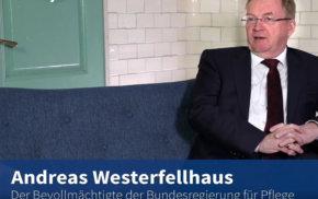 Blaue Couch: Andreas Westerfellhaus – Ein Jahr Pflegebevollmächtiger | Gesellschaftlicher Appell