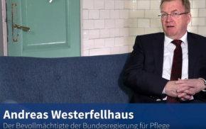Blaue Couch: Andreas Westerfellhaus – 5-Punkte-Plan für die Pflege