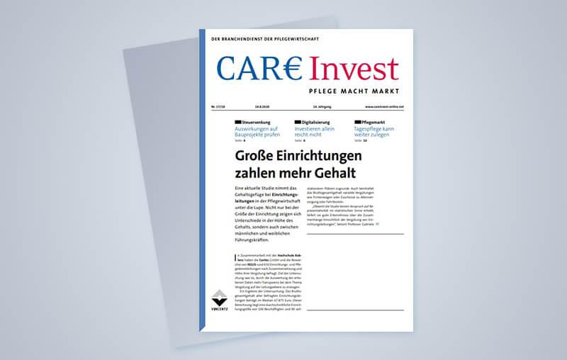 Vergütungsstudie in der CAREInvest