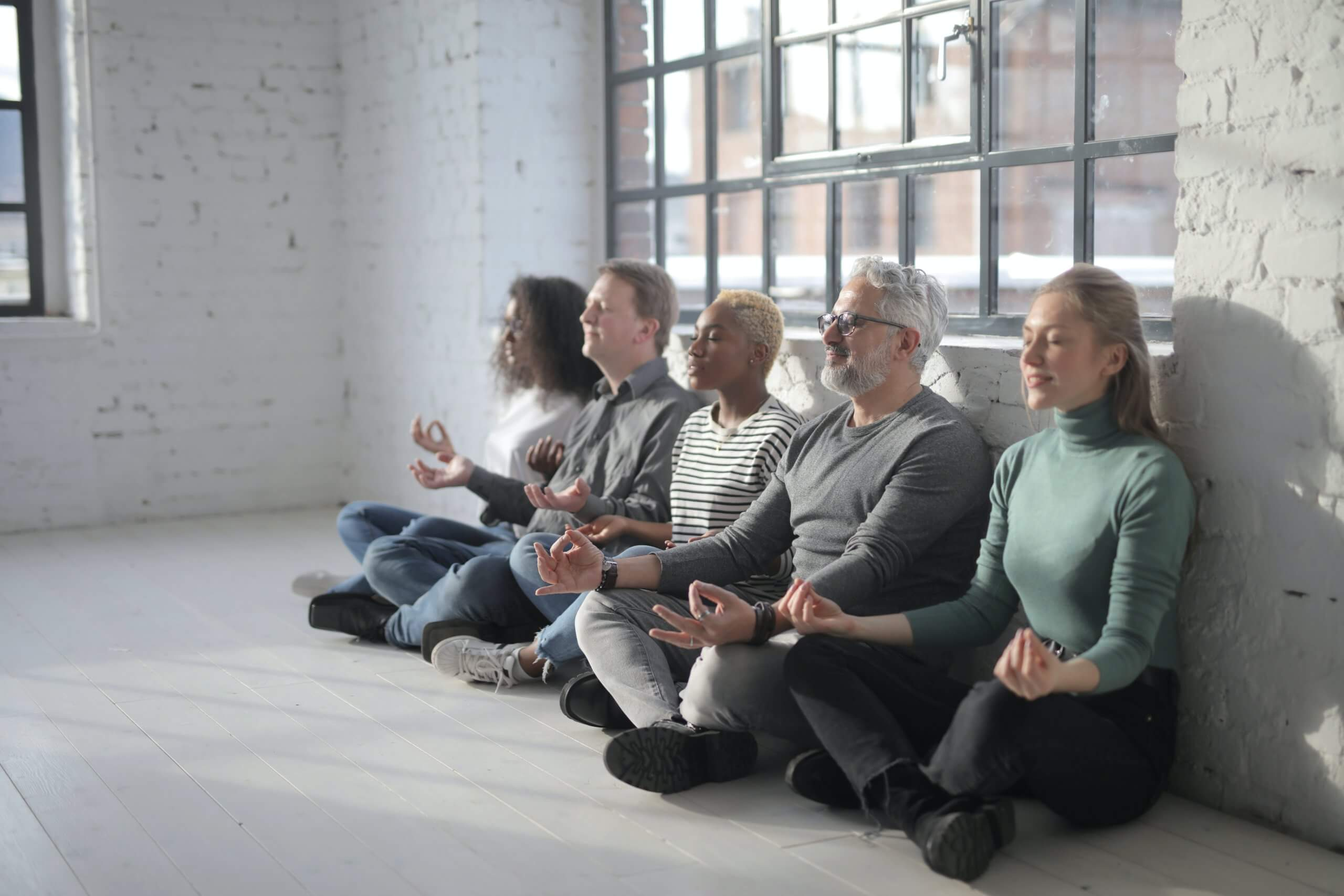 Meditation Gesundheitsförderung Arbeit