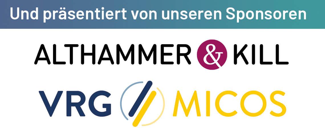Sponsoren-Logos Zukunftsforum