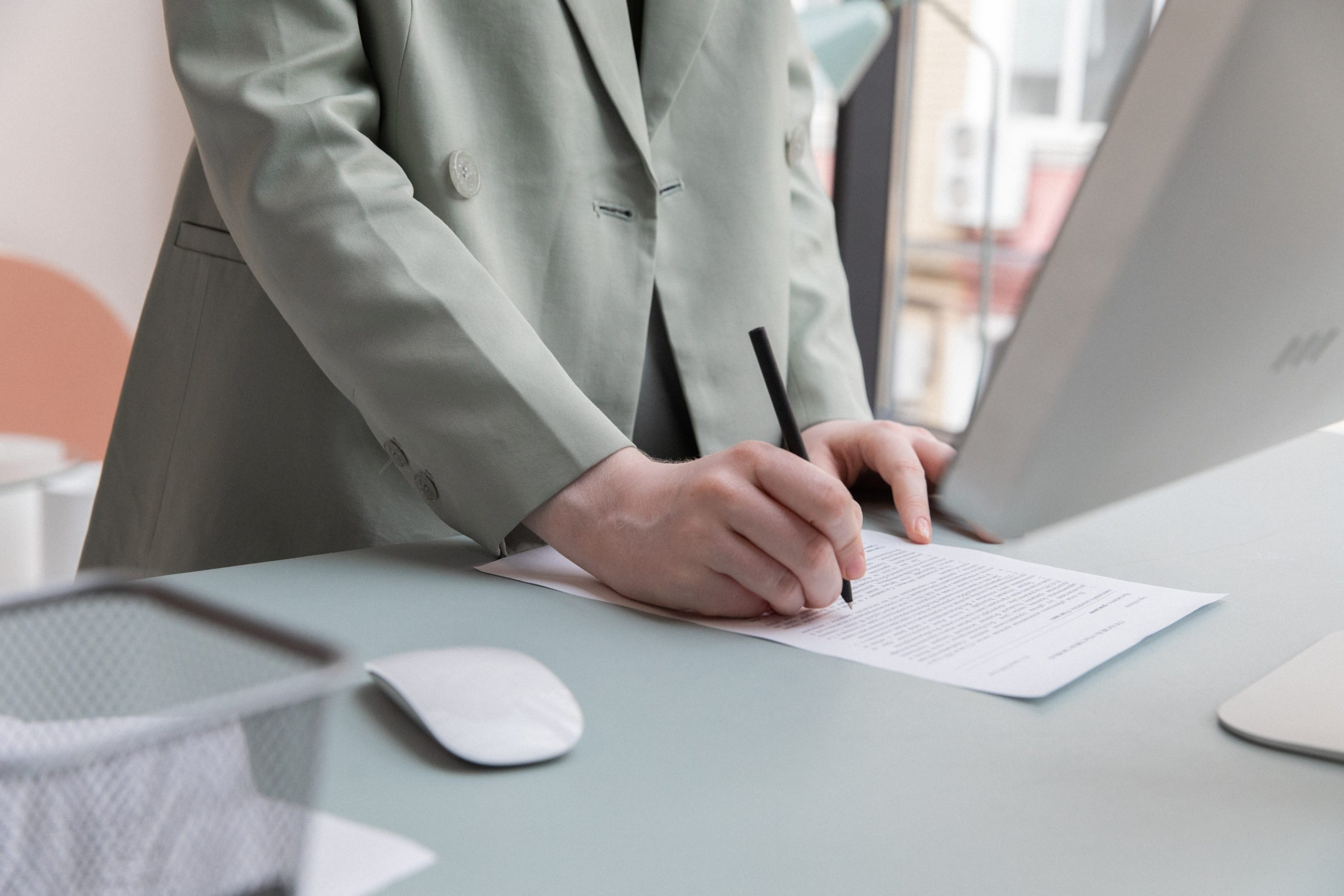 Vertrag Unterschreiben Personalien